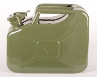 ALM FCG10 10L Green Steel Fuel Can