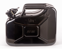 ALM FCB10 10L Black Steel Fuel Can