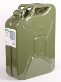 ALM FCG20 20L Green Steel Fuel Can