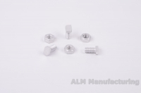 ALM GH023 Aluminium cropped head bolts