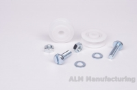 ALM GH008 Greenhouse door wheels